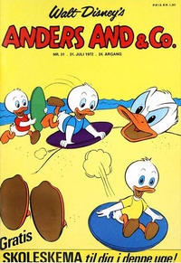 Cover Thumbnail for Anders And & Co. (Egmont, 1949 series) #31/1972