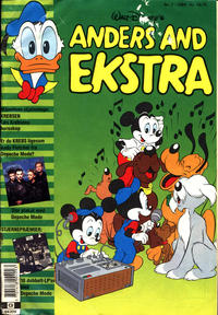 Cover Thumbnail for Anders And Ekstra (Egmont, 1977 series) #7/1989