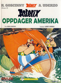 Cover Thumbnail for Asterix [Seriesamlerklubben] (Hjemmet / Egmont, 1998 series) #22 - Asterix oppdager Amerika