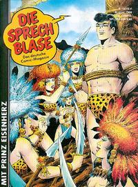 Cover Thumbnail for Die Sprechblase (Norbert Hethke Verlag, 1978 series) #168