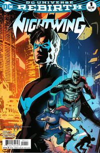 Cover Thumbnail for Nightwing (DC, 2016 series) #1