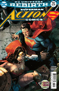 Cover Thumbnail for Action Comics (DC, 2011 series) #960 [Clay Mann Cover]