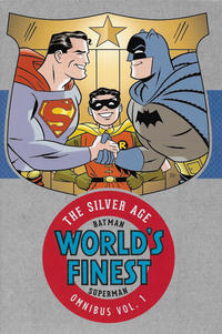 Cover Thumbnail for Batman and Superman in World's Finest: The Silver Age Omnibus (DC, 2016 series) #1