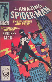 Cover Thumbnail for The Amazing Spider-Man (Marvel, 1963 series) #252 [Direct Edition]