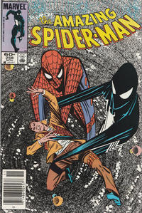 Cover Thumbnail for The Amazing Spider-Man (Marvel, 1963 series) #258 [Newsstand]