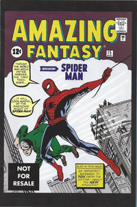 Cover Thumbnail for Amazing Fantasy No. 15 [Marvel Legends Reprint] (Marvel, 2005 series)