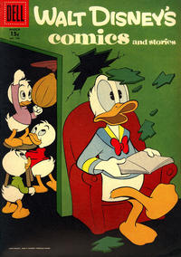 Cover Thumbnail for Walt Disney's Comics and Stories (Dell, 1940 series) #v17#6 (198) [15¢]