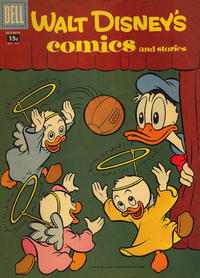 Cover Thumbnail for Walt Disney's Comics and Stories (Dell, 1940 series) #v18#1 (205) [15¢]
