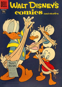 Cover Thumbnail for Walt Disney's Comics and Stories (Dell, 1940 series) #v18#2 (206) [15¢]