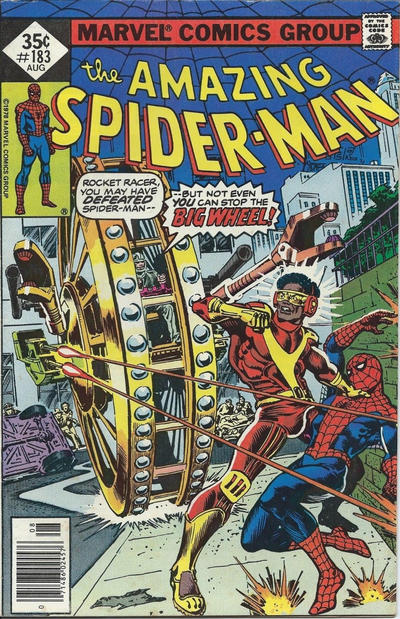 Cover for The Amazing Spider-Man (Marvel, 1963 series) #183 [Regular Edition]