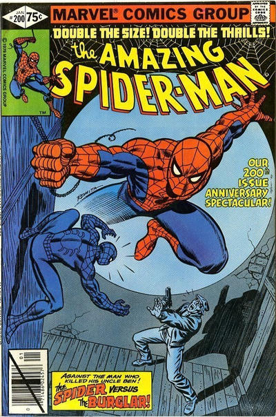 Cover for The Amazing Spider-Man (Marvel, 1963 series) #200 [Direct Edition]