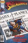 Cover for Stålmannen (SatellitFörlaget, 1988 series) #1/1991