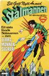 Cover for Stålmannen (Semic, 1976 series) #1/1978