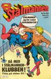 Cover for Stålmannen (Semic, 1976 series) #16/1978