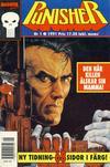 Cover for Punisher (Atlantic Förlags AB; Pandora Press, 1991 series) #1/1991
