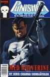Cover for Punisher (Atlantic Förlags AB; Pandora Press, 1991 series) #2/1991