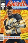 Cover for Punisher (Atlantic Förlags AB; Pandora Press, 1991 series) #4/1991