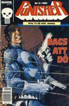 Cover for Punisher (Atlantic Förlags AB; Pandora Press, 1991 series) #5/1991