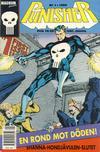 Cover for Punisher (Atlantic Förlags AB; Pandora Press, 1991 series) #1/1992