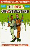 Cover for The Real Ghostbusters (Atlantic Förlags AB, 1988 series) #12/1989