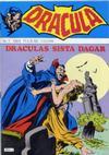 Cover for Dracula (Atlantic Förlags AB, 1982 series) #1/1984