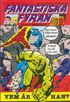Cover for Fantastiska Fyran (Atlantic Förlags AB, 1980 series) #10/1980