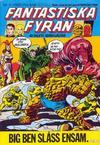 Cover for Fantastiska Fyran (Atlantic Förlags AB, 1980 series) #11/1980