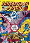 Cover for Fantastiska Fyran (Atlantic Förlags AB, 1980 series) #1/1981
