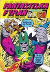 Cover for Fantastiska Fyran (Atlantic Förlags AB, 1980 series) #3/1981