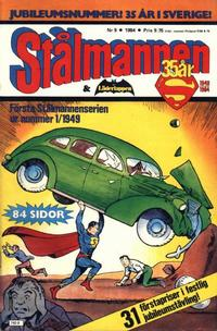 Cover Thumbnail for Stålmannen (Semic, 1984 series) #9/1984