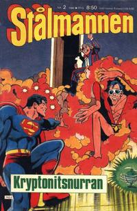Cover Thumbnail for Stålmannen (Semic, 1984 series) #2/1986