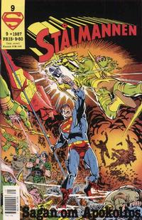 Cover Thumbnail for Stålmannen (Semic, 1984 series) #9/1987