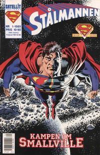 Cover Thumbnail for Stålmannen (SatellitFörlaget, 1988 series) #1/1989