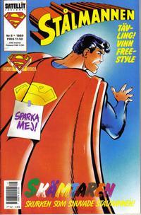 Cover Thumbnail for Stålmannen (SatellitFörlaget, 1988 series) #8/1989