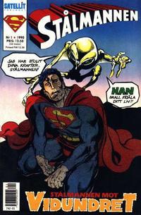 Cover Thumbnail for Stålmannen (SatellitFörlaget, 1988 series) #1/1990