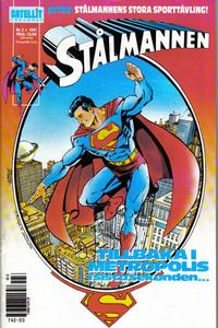 Cover Thumbnail for Stålmannen (SatellitFörlaget, 1988 series) #3/1991