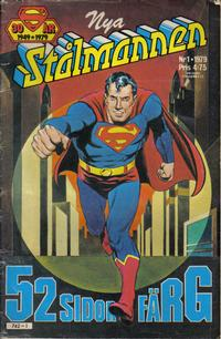 Cover Thumbnail for Stålmannen (Semic, 1976 series) #1/1979