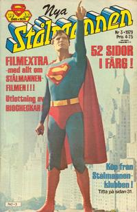 Cover Thumbnail for Stålmannen (Semic, 1976 series) #3/1979