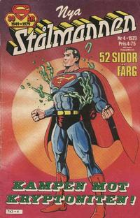 Cover Thumbnail for Stålmannen (Semic, 1976 series) #4/1979