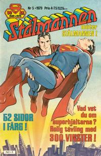 Cover Thumbnail for Stålmannen (Semic, 1976 series) #5/1979