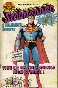 Cover Thumbnail for Stålmannen (Semic, 1976 series) #7/1979