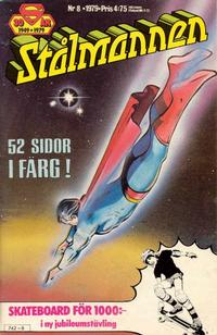 Cover Thumbnail for Stålmannen (Semic, 1976 series) #8/1979