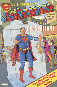 Cover Thumbnail for Stålmannen (Semic, 1976 series) #3/1981