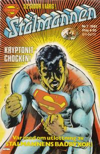 Cover Thumbnail for Stålmannen (Semic, 1976 series) #7/1981