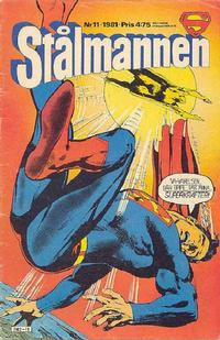 Cover Thumbnail for Stålmannen (Semic, 1976 series) #11/1981