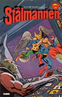 Cover for Stålmannen (Semic, 1976 series) #13/1981