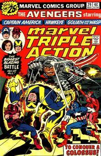 Cover Thumbnail for Marvel Triple Action (Marvel, 1972 series) #29 [25¢]