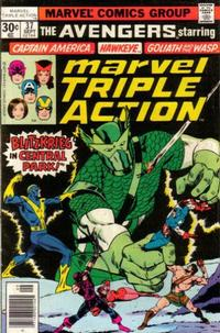 Cover Thumbnail for Marvel Triple Action (Marvel, 1972 series) #37
