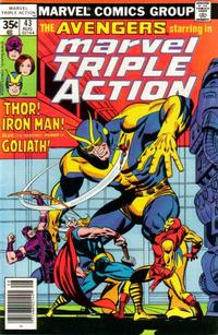 Cover Thumbnail for Marvel Triple Action (Marvel, 1972 series) #43