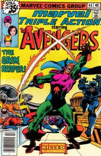 Cover Thumbnail for Marvel Triple Action (Marvel, 1972 series) #44